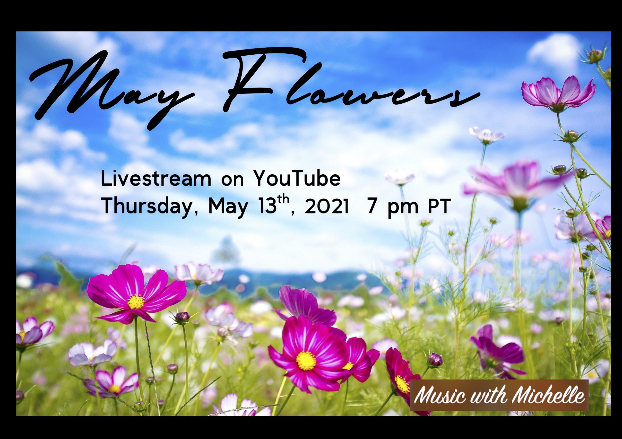 Music with Michelle May Livestream